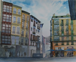 Old Town, Bilbao, Spain