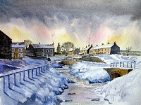 The First Thaw, Hutton-le-Hole, Yorkshire