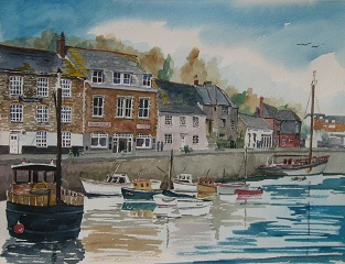 The Quay at Padstow, Cornwall