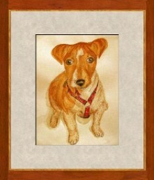 Jack Russell Terrier Pup - Pet commission